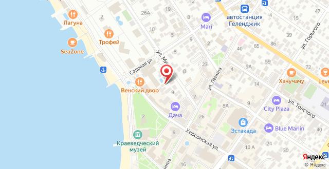 Гостевой дом Приморье на карте