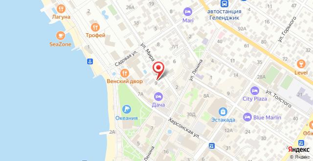Гостевой дом Пристань на карте