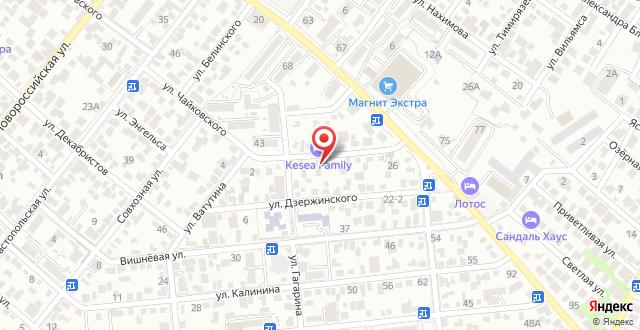 Мини-гостиница На Куйбышева на карте