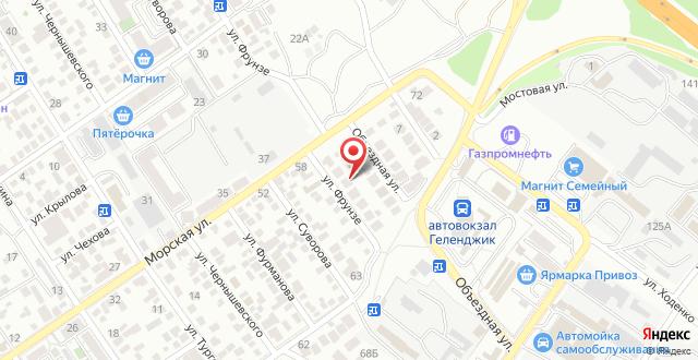 Отель Studio на карте