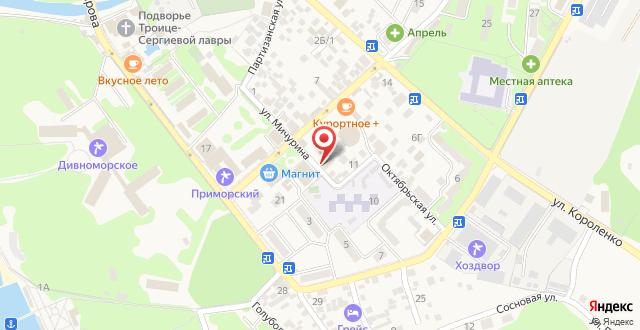 Гостевой дом Максим на карте