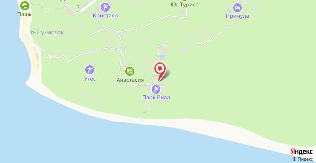 Отель Бриз на карте