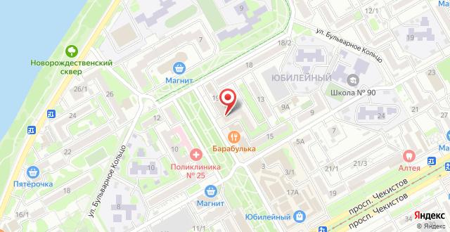 Гостиница Экспресс-Отель на карте