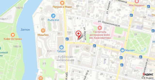 Гостевой дом Ксения на карте