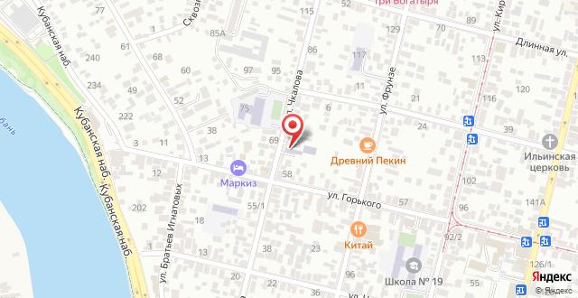 Отель Тис на карте