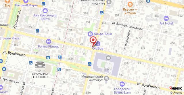 Отель Императрица на карте