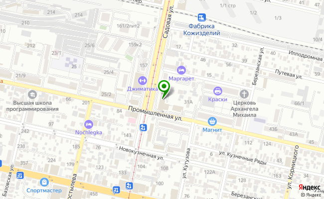 Сбербанк Краснодар ул. Садовая 112 карта