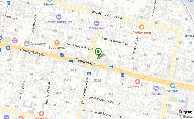 Сбербанк Краснодар ул. Северная 447 карта