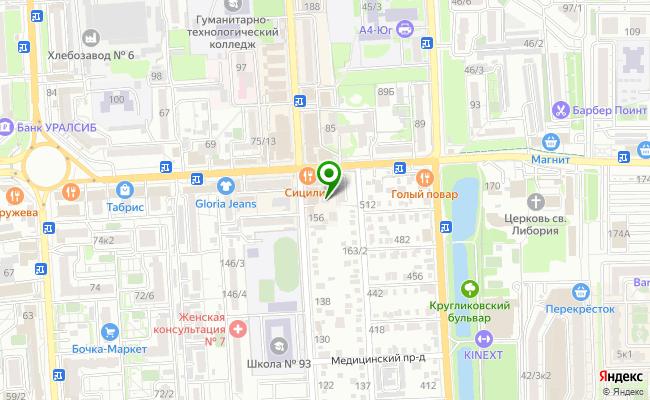 Сбербанк Краснодар ул. 1 Мая 160 карта