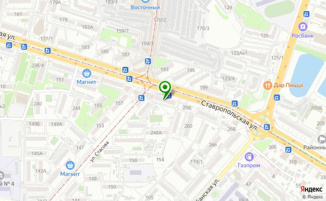 Сбербанк Краснодар ул. Ставропольская 254 карта