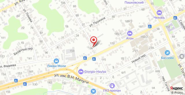 Хостел Маяк на карте