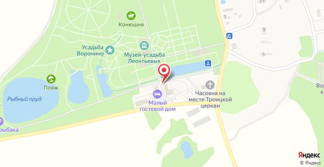 Музей Усадьба Дворян Леонтьевых на карте