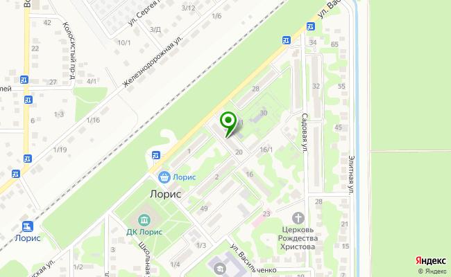 Сбербанк Краснодар п.Зональный, 3 карта