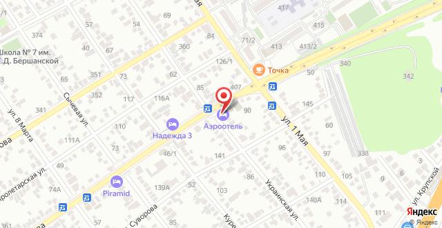 Отель Круиз на карте