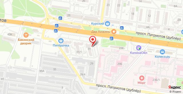 Апартаменты У Танка на карте