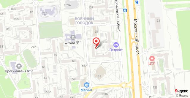 Гостиница Бремен на карте