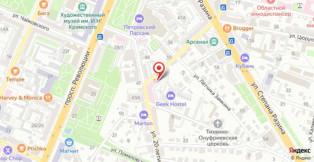 Мини-гостиница Geek Hostel & Hotel на карте