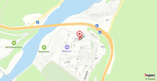Гостевой двор Ривьера на карте