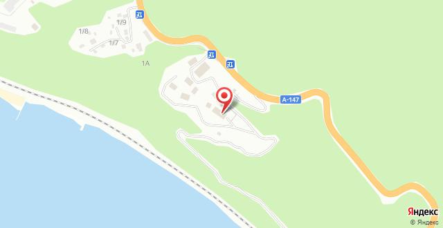 Гостевой дом Уральский берег на карте