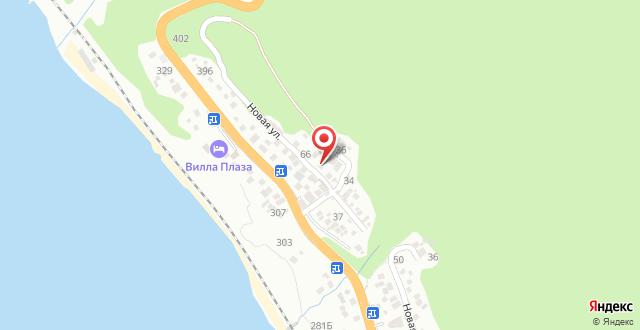 Гостевой дом Солнечный Пик на карте