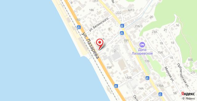 Отель Островок на карте