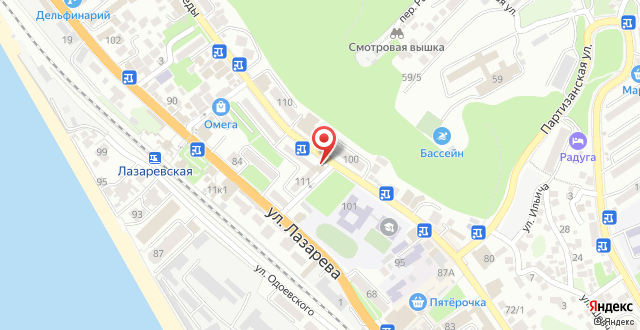 Апартаменты На улице Победы на карте
