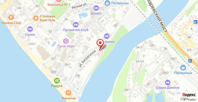 Гостиница Матрёшка на карте
