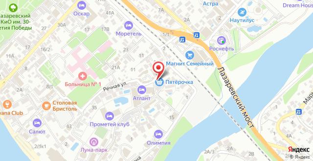 Отель Прометей Клуб на карте