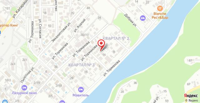 Гостевой дом Рэдэд на карте