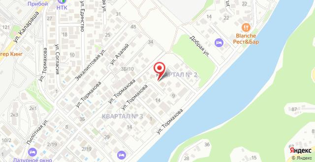 Гостевой дом Прованс на карте