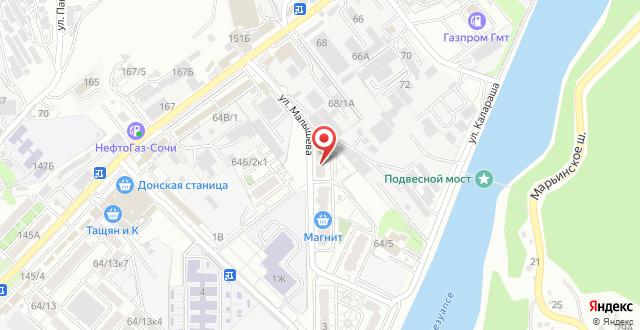 Отель Райское местечко на карте
