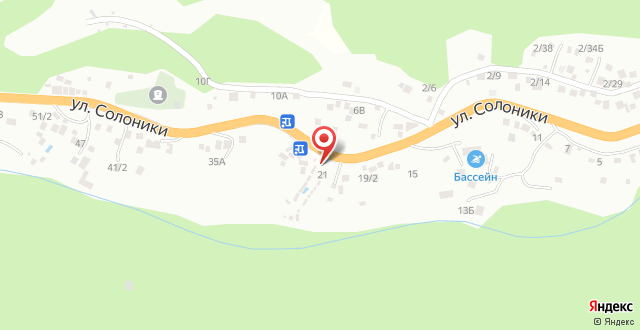 База отдыха Усадьба на карте