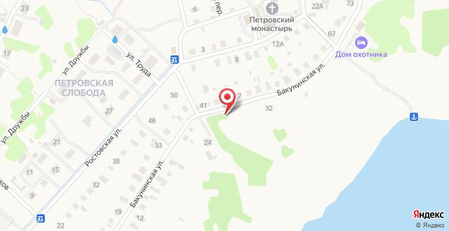 Гостевой дом Дом Охотника на карте