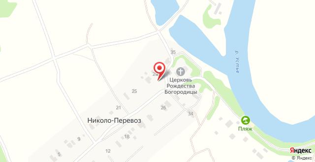 База отдыха Белогостицы на карте