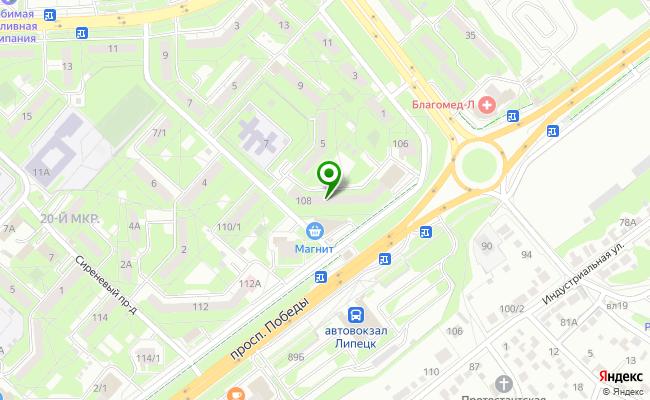 Сбербанк Липецк проспект Победы 108 карта