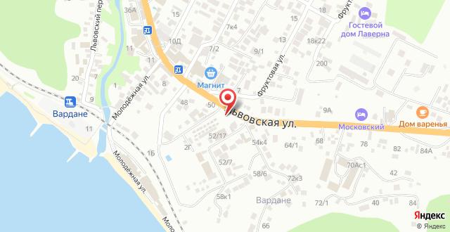 Гостевой дом Тур Сервис на карте