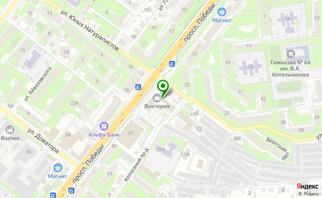 Сбербанк Липецк проспект Победы 29 карта