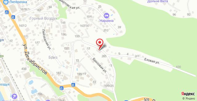 Мини-гостиница Лоо-Ра на карте