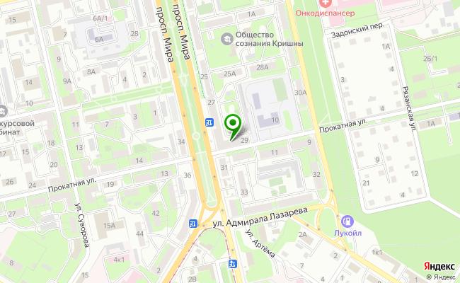 Сбербанк Липецк проспект Мира 29 карта