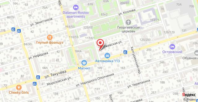 Гостевой дом Ржевская 2 на карте