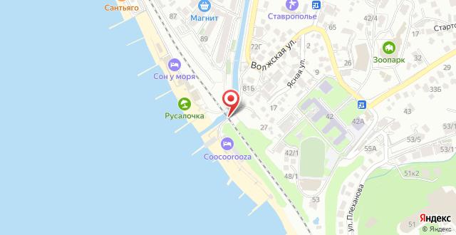 Пансионат COOCOOROOZA на карте