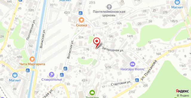Отель Марика на карте