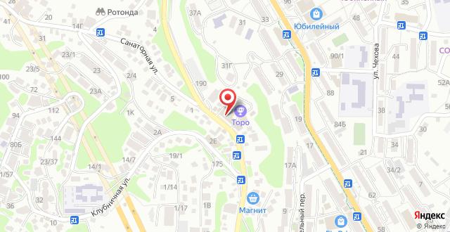 Отель Белладжио на карте