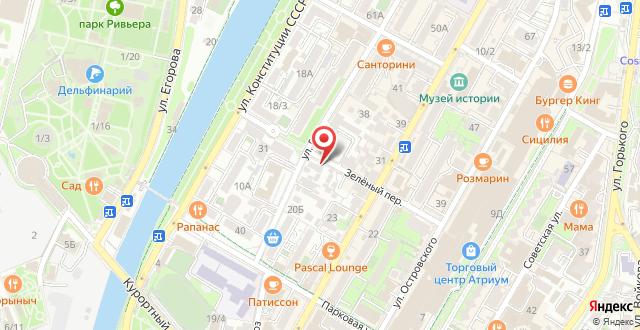 Арт-отель Плутус на карте