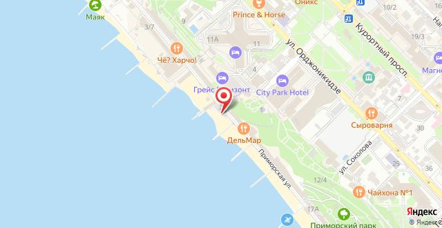 Отель Портофино на карте