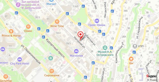 Fidan Spa Hotel Sochi на карте