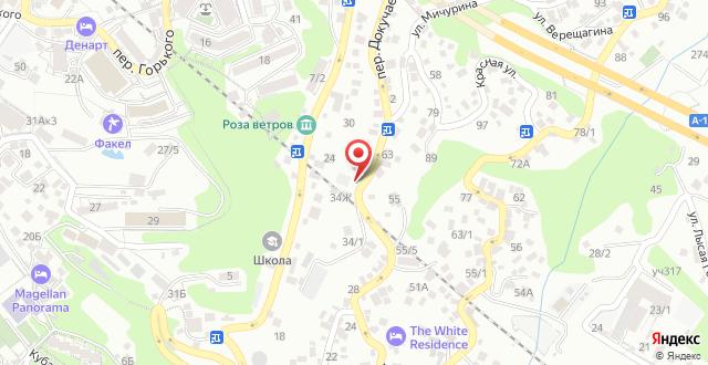 Гостевой дом Просперус на карте