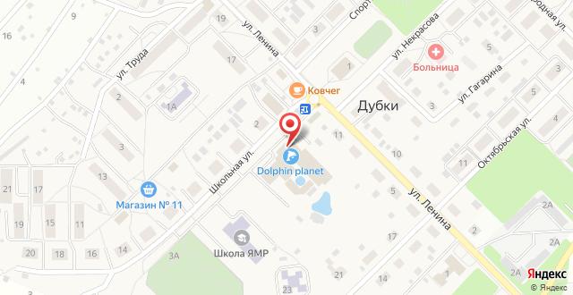 Отель Dolphin Planet на карте