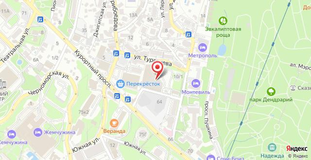 Гостевой дом Теремок на карте