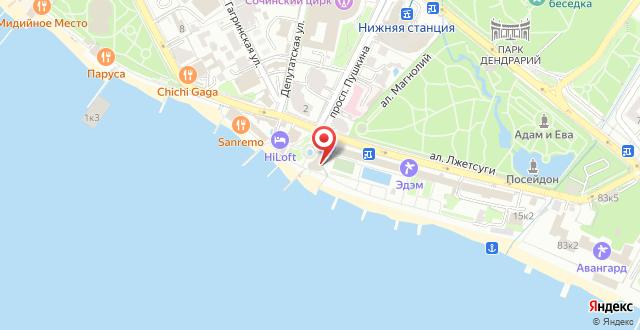 Апарт-отель Морской на карте